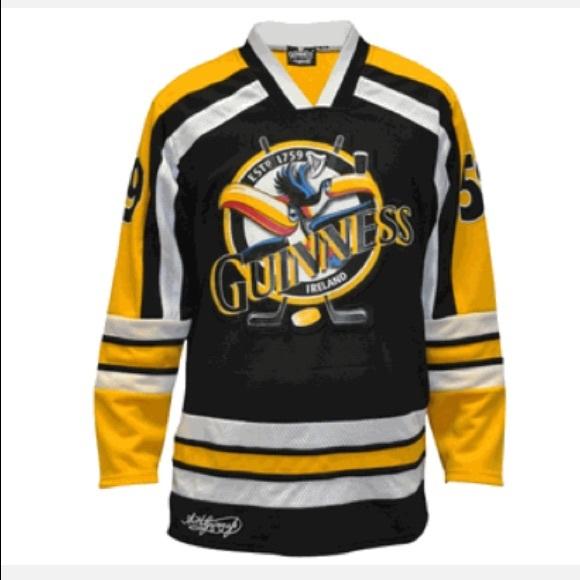 huge discount adb8a 53b1b Guinness Toucan Ice Hockey Jersey NWT